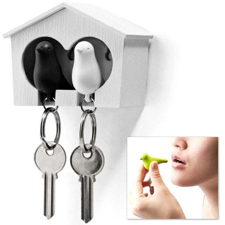 Duo Sparrow - nyckelringar och nyckelskåp i ett!