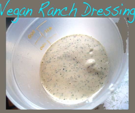 Vegan Ranch Dressing Recipe : omit salt for  true Nutritarian and if on 6-week challenge, limit daily intake to 3 tablespoons.