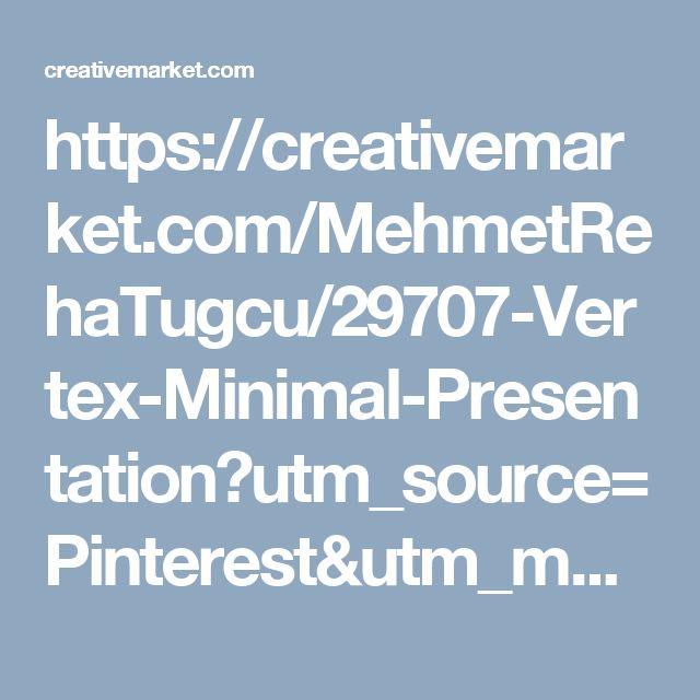 https://creativemarket.com/MehmetRehaTugcu/29707-Vertex-Minimal-Presentation?utm_source=Pinterest&utm_medium=CM Social Share&utm_campaign=Product Social Share&utm_content=Vertex - Minimal Presentation ~ Presentation Templates on Creative Market
