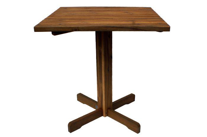 Foto de la mesa park de teca decapada y venta online en la web de Francisco Segarra.