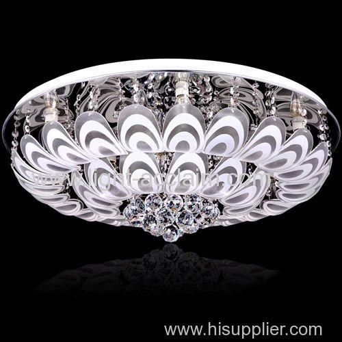 Glass ceiling lightcrystal residential led lighting chinese lighting manufacturers home led lights Manufacturer & Supplier