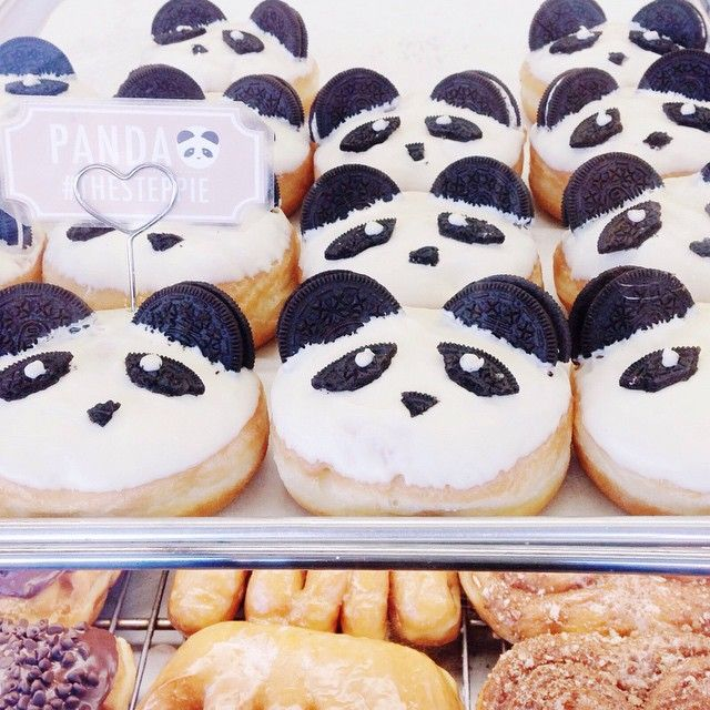 so this happened yesterday. and yes, those are oreo panda donuts. | Use Instagram online! Websta is the Best Instagram Web Viewer!