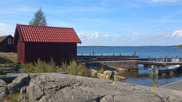 The island Norröra. Stockholm archipelago.