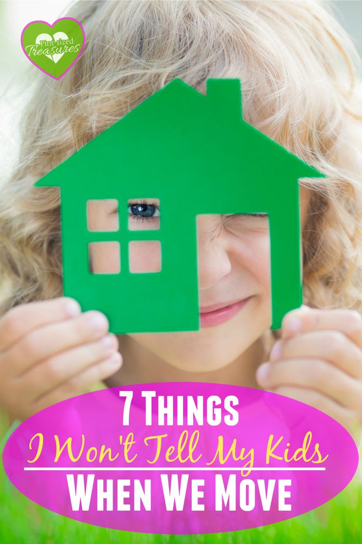 There are things I won't tell my kids when we move --- again. We've moved 10 times in the past 15 years and there are some things better left unsaid! What about you? Is your family moving soon? Would you tell your kids these things? @alicanwrite
