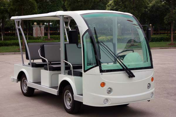 8 Seater electric china minibus for sale DN-8F with CE certificate from China