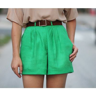 I love that color! I am swooning over these shorts