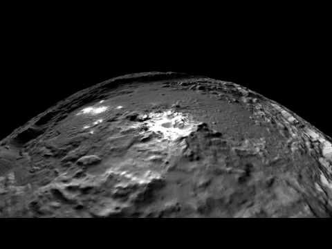 NASA VR: Fly Over Ceres with the Dawn Spacecraft (360 video) - YouTube