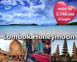 Lombok Honeymoon. Starting from IDR 3.740.000 / Couple. Valid until 31 March 2013. Please contact us (021)231 6306 or visit http://ezytravel.co.id for more information and reservation.