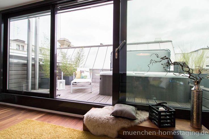 Home Staging Dachterrasse