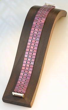 Nice simple Tila bead bracelet with tutorial