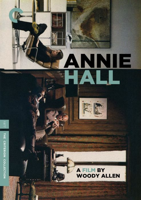"Criterion Cover for Woody Allen's ""Annie Hall"""