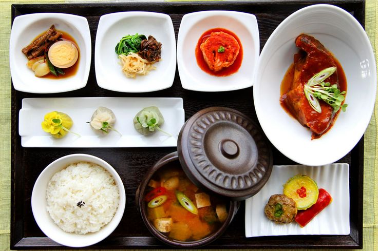 774 best food in korea images on pinterest for Authentic korean cuisine