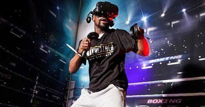 """Floyd Mayweather Talks New Boxing VR Workout Launching Gym Chain and #MeToo Movement   Getty Images  Floyd """"Money"""" Mayweather is retired for good this time apparently. He took the stage at the 2018 Consumer Electronics Show in Las Vegas to debut Mayweather Boxing  Fitness a new multi-pronged venture to get you in shape Mayweather-style.  The highlight of the venture is a virtual reality workout experience that lets users spar with and get coached by a virtual Floyd. Mayweather will also be"""