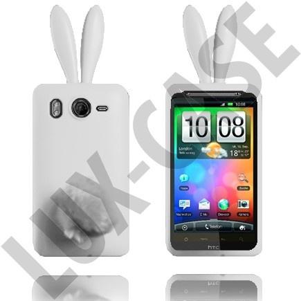 HTC Desire HD valkoiset pupu suojakuoret!