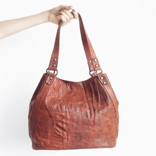 DAMAGED DUCHESS. Jade Camel (leather tote bag) http://shop.damaged-duchess.com/product/jade-camel