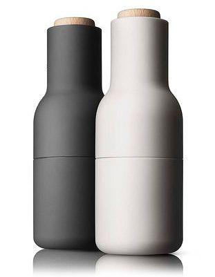 Grå Menu Bottle salt- og peber kværne small. Køb Menu kværne her