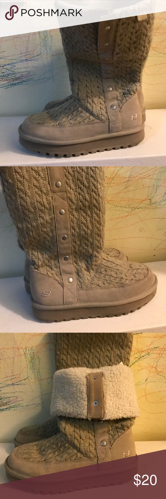 Skechers Winter Boots Comfy boots. Worn only 3-4 times. Skechers Shoes Winter & Rain Boots