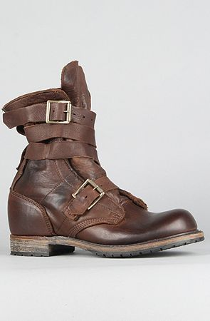 Vintage Shoe Company U.S.A. Men's The MADE IN THE USA Issac Boot in Chocolate Harness, Boots