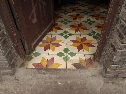 Tiled floors ( just like Cuba)