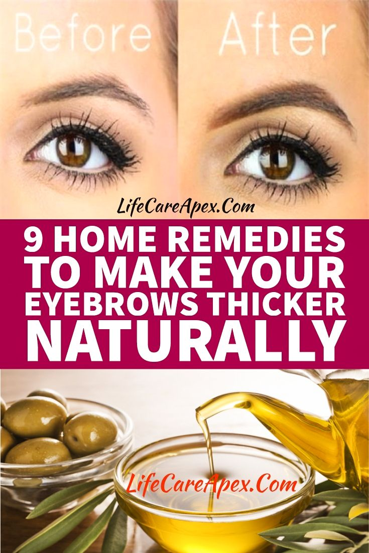 9 Home Remedies To Make Your Eyebrows Thicker Naturally # ...