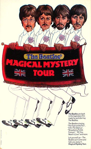 Magical Mystery Tour #Beatles premiered on BBC TV 12-26-1967