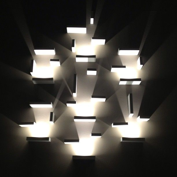 Set wall lighting from Vibia at Euroluce