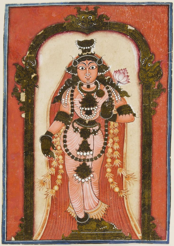 Vishnu as Mohini Artist/maker unknown, Indian Geography: Made in Deccan Region…