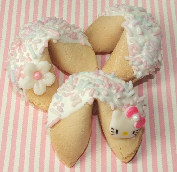 White chocolate fortune cookies recipe