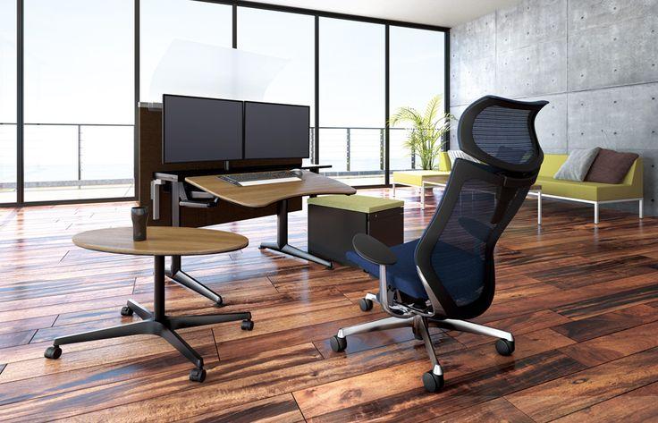 Cruise  Okamura Cruise, een tafel van PLAN@OFFICE ontworpen door Okamura.
