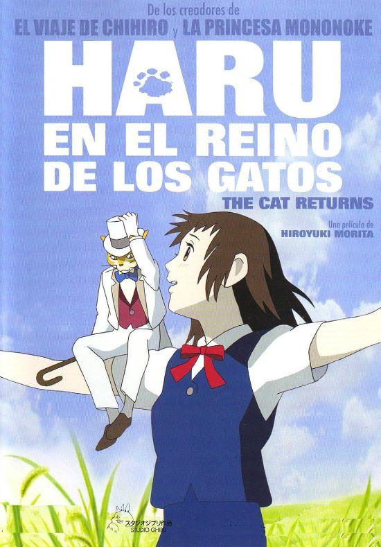 Película: Haru en el reino de los gatos