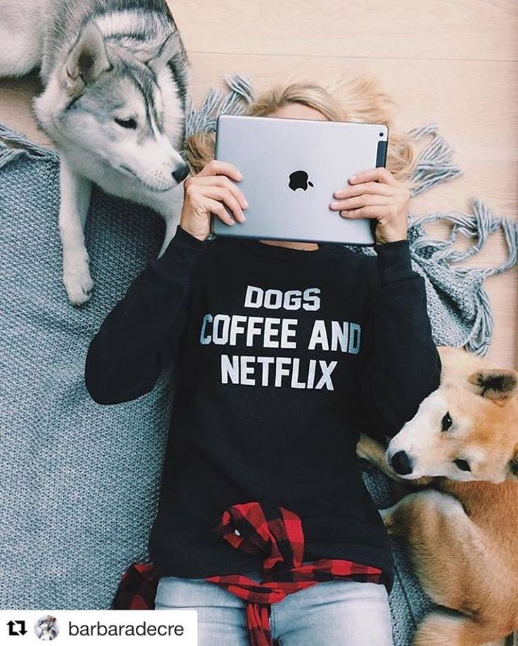 """Get 10% off our cozy """"Dogs, Coffee and Netflix"""" sweatshirt now through Christmas with code: PINTEREST Dog Shirts For Humans, Pet Lovers Christmas Gift, Graphic Sweatshirt, Sweatshirt Outfit, Dog Lover"""