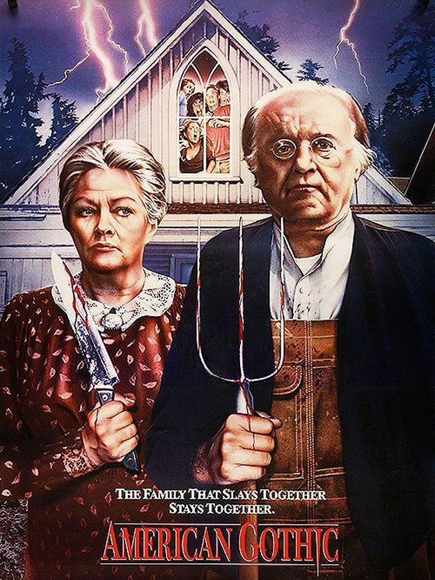 Slasher Gothic | 36 Pop Cultural Reinventions Of The American Gothic Painting
