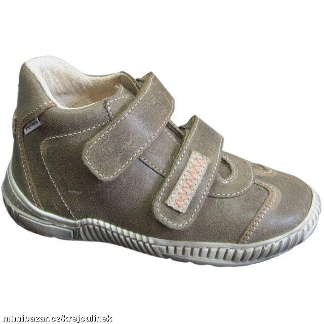 8233e97945a Prodám - celokožené dětské celoroční boty botky botičky