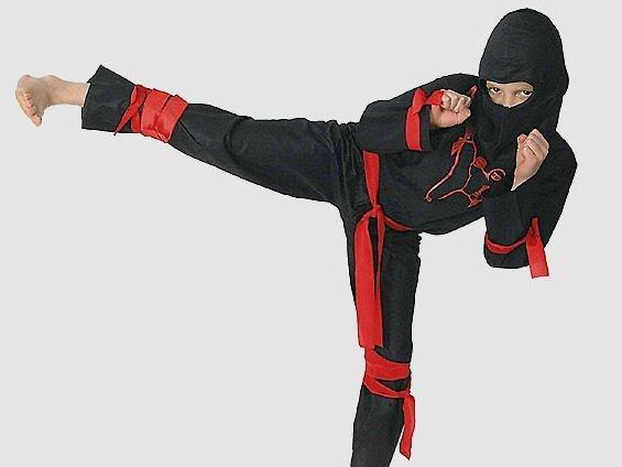 #Ninja kostuum