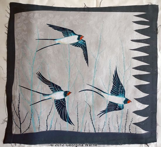 textile print enlargement