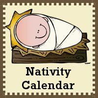 Nativity Calendar Set free download on 3 Dinosaurs at http://3dinosaurs.com/wordpress/index.php/free-nativity-calendar-cards/