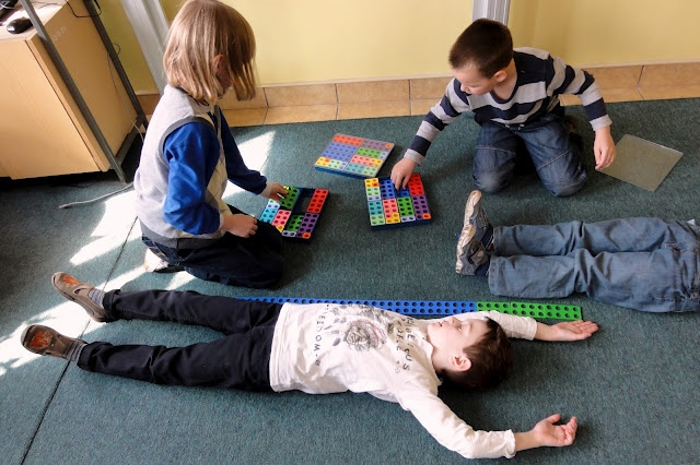 Numicon to find length/width