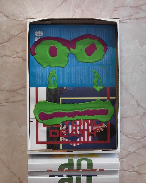Bjarne Melgaard  Untitled, 2012  Acrylic on paper  12 ¼ x 18 inches