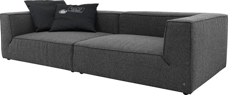 tom tailor big sofa big cube wahlweise mit. Black Bedroom Furniture Sets. Home Design Ideas