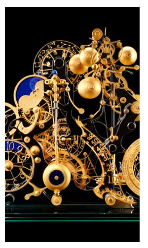 Wow. Trully inspiring art! Tres Caracole clock by Miki Eleta