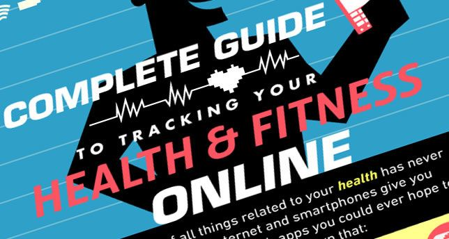 Complete Guide to Tracking Your Health & Fitness Online [INFOGRAPHIC]