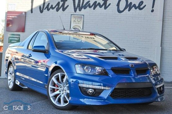 2013 Holden Special Vehicles Maloo E Series 3 MY12.5 Sports Automatic