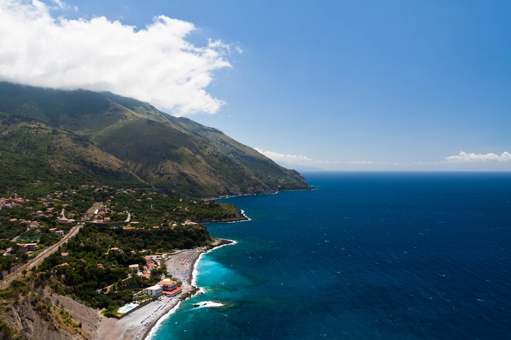 Stunning view of the coast of Maratea.