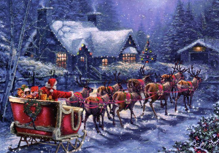 Santa And Reindeer | Santa_Reindeer.jpg