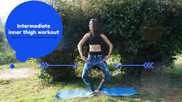 Lets work out thighs! http://fitteen.info/intermediate-inner-thigh-workout/