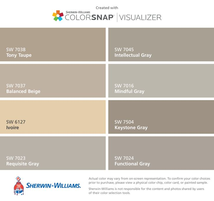 I Found These Colors With Colorsnap Visualizer For Iphone By Sherwin Williams Tony