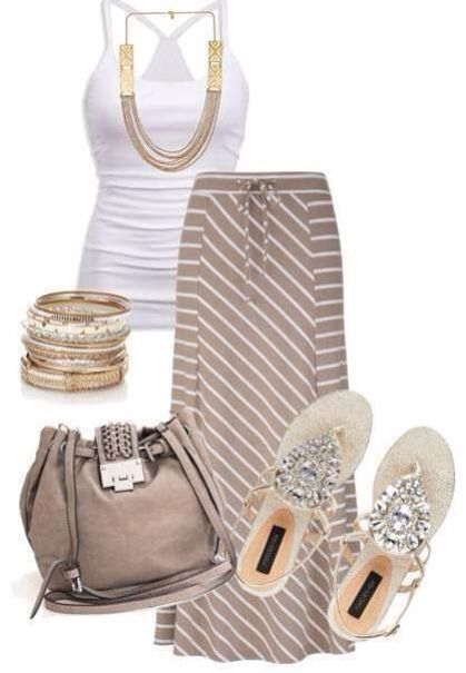 Super cute outfit for summer