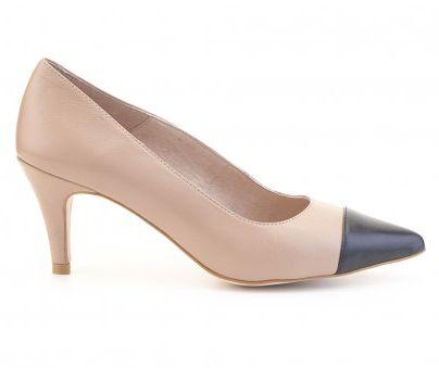 Zapato tacón piel FOSCO