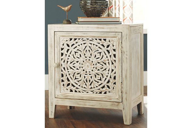Fossil Ridge Accent Cabinet With Images Accent Cabinet Decor Ashley Furniture