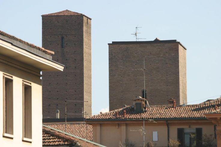 #Bologna città delle torri. Vista da una delle camere dell'#AlbergoPanorama